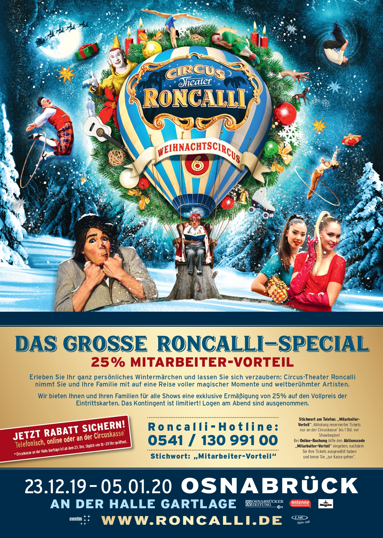 Circus Roncalli Tournee 2021