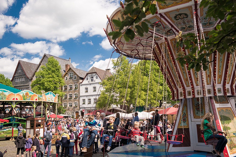 Historischer Jahrmarkt in Kornelimünster - Circus Roncalli