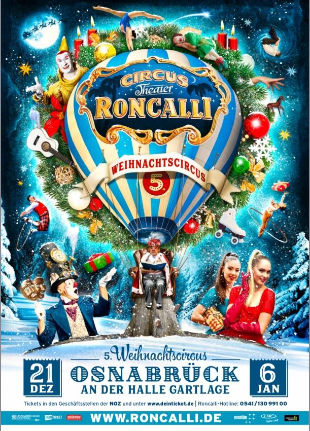 Roncalli Weihnachtscircus 2021