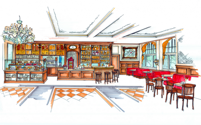 roncalli grand caf neuer ffnung im levantehaus aktuelles vom circus roncalli jubil um. Black Bedroom Furniture Sets. Home Design Ideas