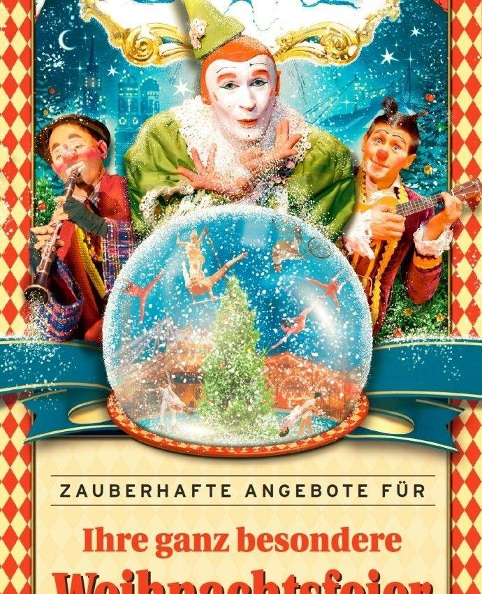 Weihnachtsfeier Zirkus.Ihre Ganz Besondere Weihnachtsfeier Bei Roncalli Aktuelles Vom
